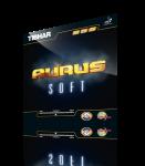 Tibhar Aurus Soft schwarz | 1,9 mm