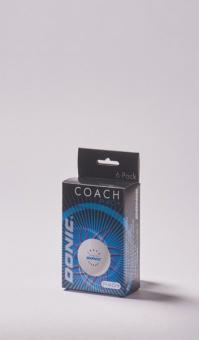 DONIC Coach P40+ Cell-Free Trainingsbälle, 12 St.