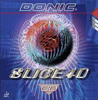 DONIC Slice 40 CD 1,2 mm | schwarz