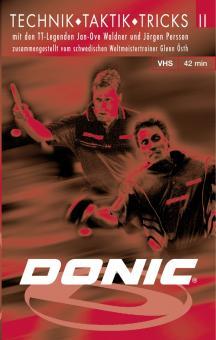 "DONIC DVD ""Technik, Taktik, Tricks II"""