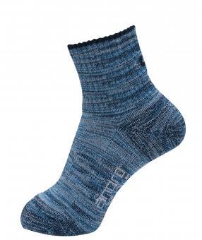 andro Socke Melange (blau)