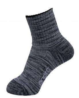 andro Socke Melange (schwarz)