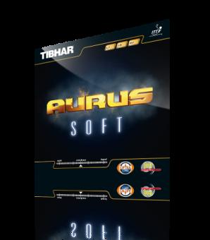 Tibhar Aurus Soft schwarz | 1,7 mm