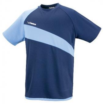 Yasaka T-Shirt Pracs (schwarz/blau)