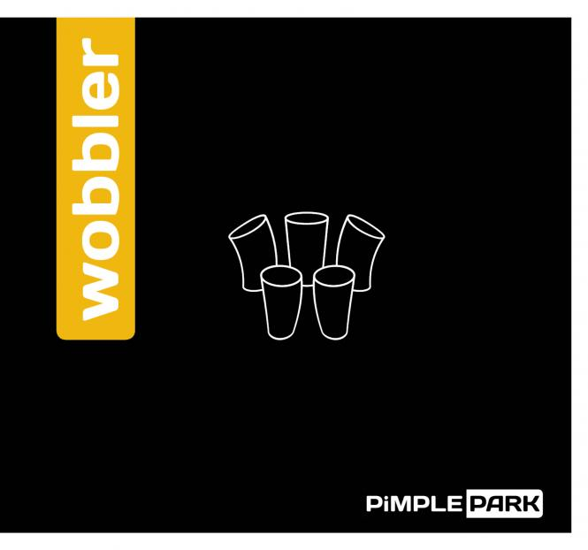 PiMPLEPARK Wobbler rot | OX